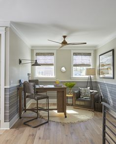 Stair Landing | Reading Corner | Homework Desk | Kids Game Area | Rustic Home Decor | Coastal Decor | Industrial Interior Design | Coastal Interiors | Interior Design Ideas | 30A | Florida | Sweet Bay | Designer Linda Holman | Lovelace Interiors