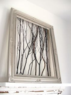 maybe a thought for what to do with that old window frame