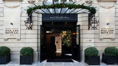 Best rates Guaranteed - Official Web site of the Grand Hotel du Palais Royal Paris, new 5 star hotel near Louvre museum, Tuileries Garden and the Opera. Check our special offers all year long Palais Royal Paris, Hotel Du Palais, Best Boutique Hotels, Royal Garden, Luxury Accommodation, Paris Hotels, Hotels And Resorts, Luxury Hotels, Top Hotels