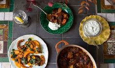 Mouthwatering lamb tagine and roast squash recipes | Cook residency | Life and style | The Guardian