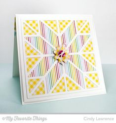 Quilted With Love by One Happy Stamper - Cards and Paper Crafts at Splitcoaststampers