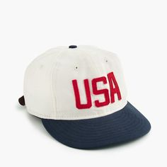 "Ebbets Field Flannels® for J.Crew ""USA"" ball cap : Men bags & accessories | J.Crew"