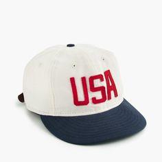 "Ebbets Field Flannels® for J.Crew ""USA"" ball cap : Men bags & accessories   J.Crew"