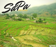 Sapa is just one of the destinations you can explore when teaching in Vietnam. It can be reached from Thailand, China, Laos and Cambodia and boasts sweeping vistas of mist-clad mountains. #teachandtravel #teachingenglishabroad#teach #teachingoverseas #goabroad#gapyear #yolo #vietnam #EFL #sapa #TEFL