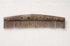 comb of bone or horn. Birka (Historiska Museet)