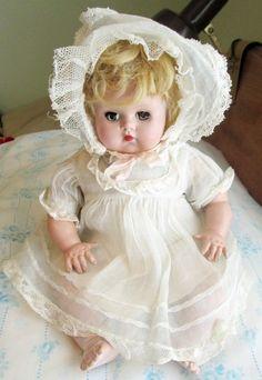 "Vintage Madame Alexander Baby Doll 11"" McGuffey Genius Nice Condition | eBay"