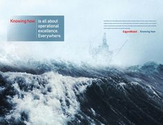 """Exxon """"Knowing How"""" branding campaign"""