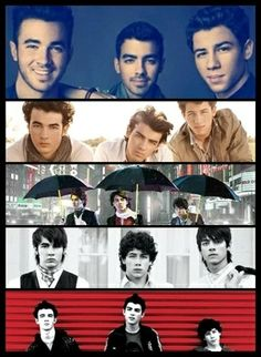 It's about time - Jonas Brothers - A little bit longer - Lines, vines and trying times - V