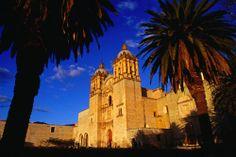 The Santo Domingo Church Oaxaca Mexico