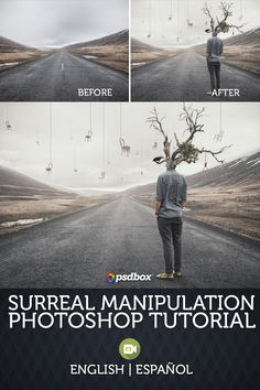 In this photoshop tutorial I will explain how I made a simple surreal manipulation artwork in Photoshop CC PSD file available  Español: https://psdbox.es/manipulaciones/efecto-surrealista-tutorial-photoshop