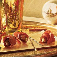 Prosciutto-Wrapped Stuffed Dates | MyRecipes.com