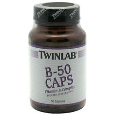Twinlab B-50 Caps -- 50 Capsules >>> To view further for this article, visit the image link.