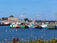 Harbour at Lockport, Nova Scotia.  Image by Rediscovering Canada