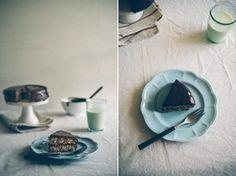 Hazelnut Meal and Chocolate Cake (Souvlaki For The Soul)