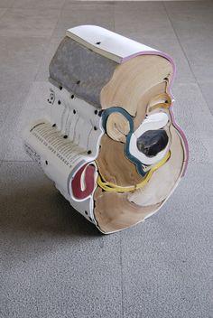 Jonathan Callan - 2007 A Guide to Computing Contemporary Sculpture, Contemporary Art, Instalation Art, Art Object, New Art, Sculpture Art, Art Inspo, Book Art, Sculpting