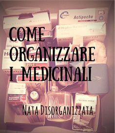 come organizzare i medicinali