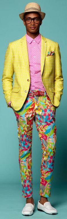 Trina Turk Spring 2015 Ready-to-Wear Fashion Show Fashion Show Collection, Men's Collection, Spring 2015 Fashion, Autumn Fashion, Mr Turk, Moda Floral, Mens Fashion Suits, Trina Turk, Colorful Fashion