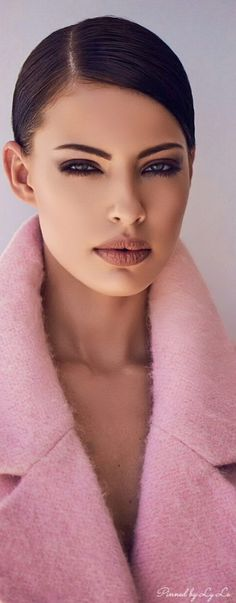. Beauty Makeup, Hair Beauty, Thankful For Friends, Stunning Makeup, Color Rosa, Powder Pink, Bubblegum Pink, Perfect Makeup, Dusty Rose