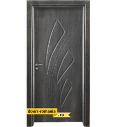Uși de interior în România la un preț super | Doors Romania Modern Exterior Doors, Home Interior Design, Locker Storage, Door Handles, Design Ideas, Display, Home Decor, Doors, Interiors