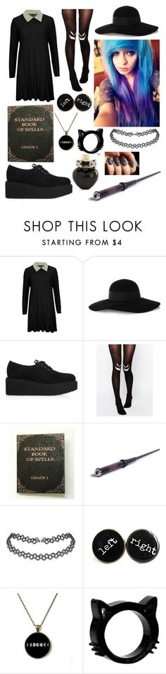 """Witchy!"" by one-direction-tumblr-girl ❤ liked on Polyvore featuring Eugenia Kim, Karl Lagerfeld, ASOS, Aéropostale, women's clothing, women, female, woman, misses and juniors"