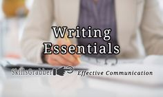 The Critical Writing Essentials you can learn at SkillsGrabber.com