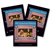 All American History Volume I Set: Student Reader, Teacher's Guide and Student Activity Book