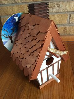 Birdhouse auction creation 2015 - changing seasons