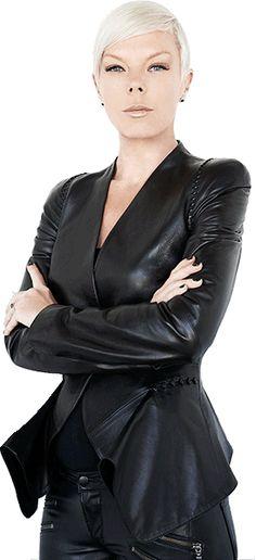 Tabatha Coffey. Awesome hairstylist. Reality TV star. Fashion maven. All-around badass.