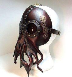 Steampunk Cthulu Mask!