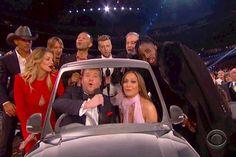 Grammys 2017: James Corden leads Sweet Caroline Carpool Karaoke