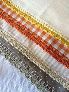 Crochet Edgings for Blankets etc