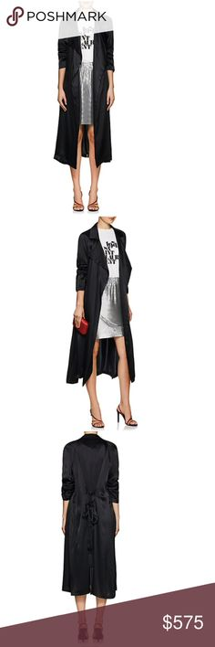 e47a190487a We Are Leone Tallulah Silk Trench Coat W/ Tags Never worn. Still has tags
