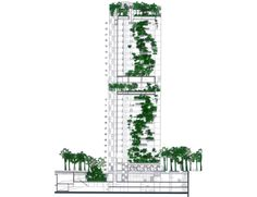 19-Vertical-garden-of-Renaissance-Barcelona-Fira-Hotel-by-Jean-Nouvel