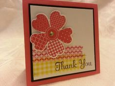 Best of Greetings, Flower Shop, Washi Tape, 3x3 Card