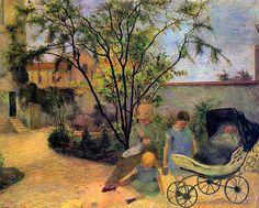 Paul Gauguin - Garden in the Rue Carcel