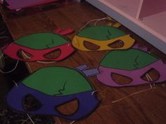 ninja turtles centerpieces | am working on a ninja turtle birthday party, wanted to show you ...