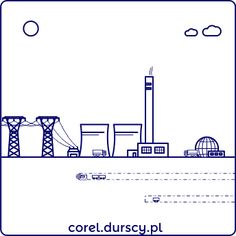 Przemysłowa kraina 3/3 #3 #corel_durscy_pl #durskirysuje #corel #coreldraw #vector #vectorart #illustration #draw #art #digitalart #graphics #flatdesign #flatdesign #icon #przemysł #fabryka #kopalnia #industry #factory #mine #kombajm #tryptyk #triptych #silesia #slask #katowice #kato #jaworzno Pictogram, Icon Design, Bar Chart, Diagram, Math, Illustration, Ideas, Math Resources, Bar Graphs