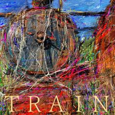 PCペイントで絵を描きました! Art picture by Seizi.N:   昨日描いた絵です、ご用済みになった機関車が野ざらしで、かわいそうなのでアート風にお絵描きしてみました。  Richard Clayderman http://youtu.be/gik357s0dFo