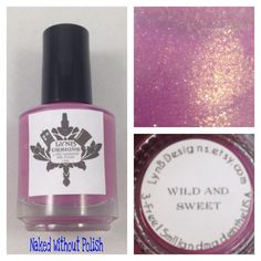 Naked Without Polish: LynBDesigns Black Friday Gift With Purchase Limited Editions Swatch and Review Wild & Sweet