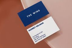 All-female Pentagram team designs branding for a women's social club in New York Club Design, Tag Design, Graphic Design, Its Nice That, Human Connection, Creativity And Innovation, Business Card Design, Business Cards, Social Club