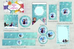 Kits imprimibles diseños variados Frame, Home Decor, Stickers, Round Labels, Lollipops, Custom Chocolate, Picture Frame, A Frame, Interior Design