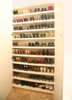 Para os sapatos!