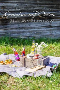 KochzereMoni: Genießen auf Wiesen - Picknick Fingerfood - EIN BL...