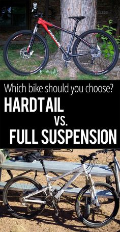 Hardtail vs Full suspension mountain bikes - Singletracks blog