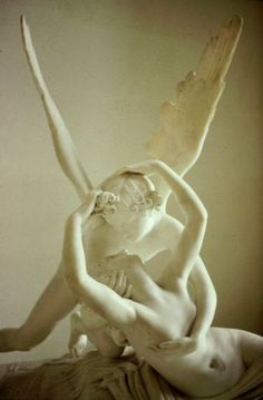 Eros and Psyche - this was my favorite at the Louvre in Paris!
