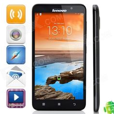 Lenovo A850+ MTK6592 Octa-Core Android 4.2.2 WCDMA Bar Phone w / 5.5