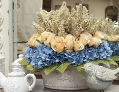 Parisian Blooms - Lush Faux Florals with French Flair