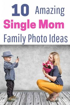 single mom Creative ideas for your single parent family photo shoot. Make sure your family photos are beautiful with ideas on what to wear in your family pictures. Get fun tips for mother son pictures, photos of the whole family or mom and baby photos. Mother Son Pictures, Mom Pictures, Creative Pictures, Senior Pictures, Family Picture Poses, Family Photos, Baby Photos, Picture Ideas, Photo Ideas