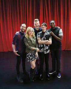 The ever so talented Pentatonix, looking fabulous as usual.