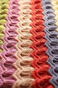 Dans la série des rayures colorées ... - Granny mania !